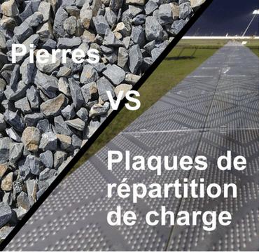 Faut-il choisir des plaques de répartition de charge ou des pierres pour vos routes temporaires ?